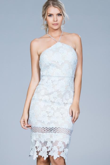 Halter Lace Dress