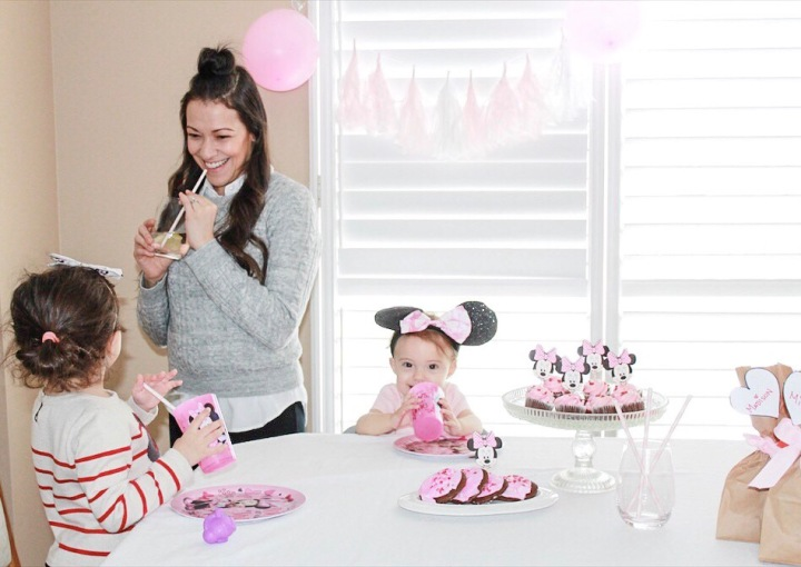 DIY Minnie Mouse theme Party